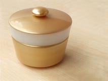 Jar with cream Stock Image