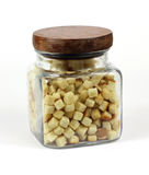 Jar Croutons Stock Photos