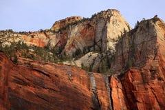 jar czerwony Utah izoluje biały zion Fotografia Stock