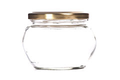 Jar is empty. Royalty Free Stock Photos
