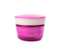 Jar of face cream isolated Stock Photos