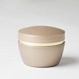 Jar of facial cream. Jar of moisturizing facial cream Royalty Free Stock Image