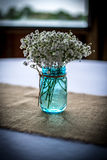 Jar of Flowers Royalty Free Stock Photography