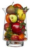 Jar of fruits Stock Image