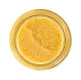 Jar of ginger paste Royalty Free Stock Image