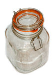 Jar from glass Royalty Free Stock Images