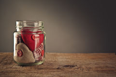 Jar of Hearts Royalty Free Stock Photo