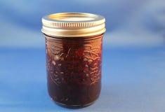 Jar of Home Made Jam Stock Image