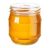 Jar of honey Stock Photography