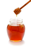 Jar of honey Stock Image