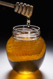 Jar of Honey Stock Photo