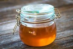 Jar of honey Stock Image