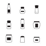 Jar icons Royalty Free Stock Images
