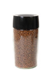 Jar of instant coffee Royalty Free Stock Photos