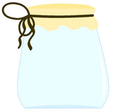 Jar for jam Royalty Free Stock Photos