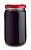 Jar of jam royalty free stock images