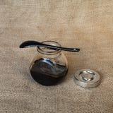 Jar with jam Royalty Free Stock Image