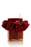 Jar of jam. On the white background Stock Image