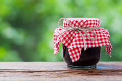 Jar of jam Stock Photography