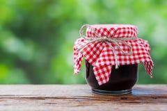 Jar of jam Stock Photography