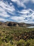 Jar jezioro w Arizona obraz stock