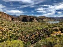 Jar jezioro w Arizona zdjęcia royalty free