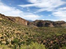 Jar jezioro w Arizona obrazy stock