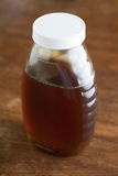 Jar of Local Honey Royalty Free Stock Photography