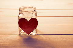 The jar of love Stock Images
