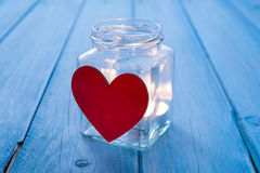 The jar of love Stock Photography