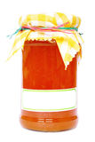 Jar of Maramalade Royalty Free Stock Photography