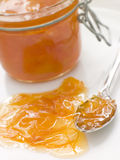 Jar Of Marmalade Royalty Free Stock Photos