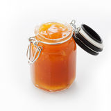 Jar of marmalade Stock Image