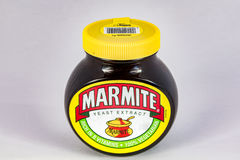 Jar of Marmite royalty free stock photo