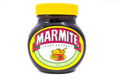 Jar of Marmite Royalty Free Stock Photography