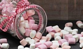 Jar of marshmallows