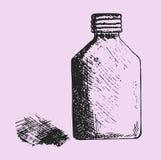 Jar medical alcohol Royalty Free Stock Image