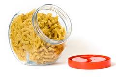 Jar Of Noodles Stock Photos