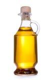 Jar with oil isolated Stock Photos