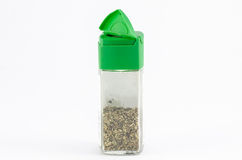 Jar of oregano Royalty Free Stock Photo