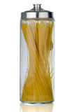 Jar of pasta Stock Image