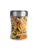 Jar of Pasta Isolated on a White Background. Jar of Pasta Isolated on White royalty free stock image