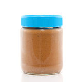 A jar peanut butter Royalty Free Stock Photography