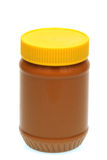 Jar of Peanut Butter Royalty Free Stock Photography