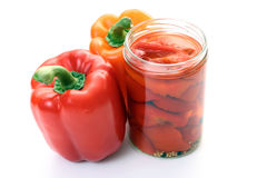 jar pepper Zdjęcia Stock