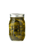 Jar of pickles Stock Image