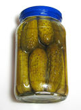 Jar of Pickles Stock Photography