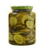 Jar Of Pickles Royalty Free Stock Photos