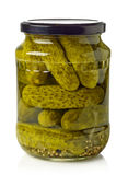 Jar of pickles Stock Photo