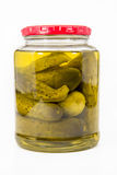 Jar of Pickles Royalty Free Stock Image